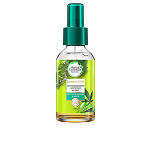 Tratamiento hidratante pelo - Tratamiento antiencrespamiento BOTANICALS ALOE & HEMP aceite anti-frizz capilar Herbal Essences