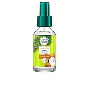Tratamiento hidratante pelo - Tratamiento brillo BOTANICALS ALOE & COCO aceite hidratación capilar Herbal Essences