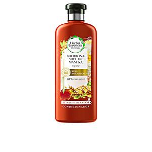Haar-Reparatur-Conditioner - Conditioner für gefärbtes Haar - Produkte für glänzendes Haar BIO REPARA MANUKA acondicionador detox 0% Herbal Essences