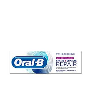 Toothpaste ENCIAS & ESMALTE REPAIR limpieza avanzada pasta dentífrica Oral-B