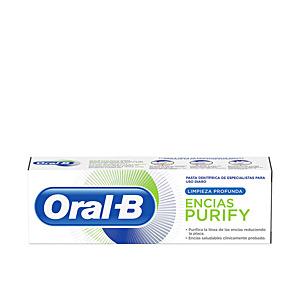 Toothpaste ENCIAS PURIFY LIMPIEZA PROFUNDA pasta dentífrica Oral-B