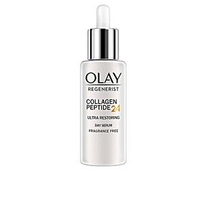 Skin tightening & firming cream  - Anti aging cream & anti wrinkle treatment REGENERIST COLLAGEN PEPTIDE24 ultra day serum Olay
