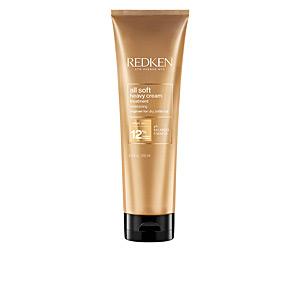 Hair mask for damaged hair ALL SOFT heavy cream Redken