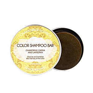 Moisturizing shampoo BIO SOLID chamomile blonde shampoo bar Biocosme