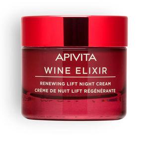Anti aging cream & anti wrinkle treatment - Skin tightening & firming cream  WINE ELIXIR renewing lift night cream Apivita