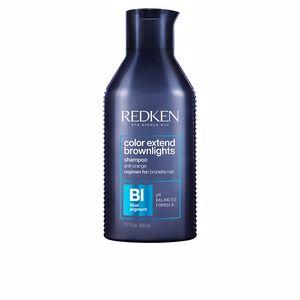 Colorcare shampoo COLOR EXTEND BROWNLIGHTS blue toning shampoo Redken