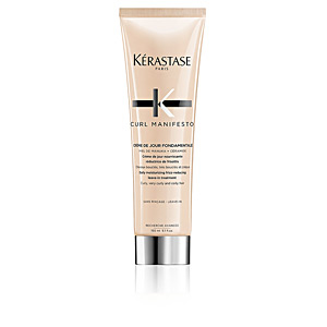 Produtos cabelo cacheado - Produtos para cabelos crespos CURL MANIFESTO crème de jour fondamentale Kérastase