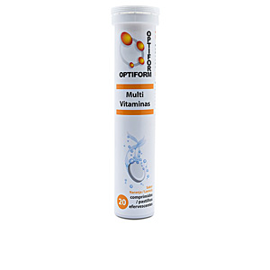 Vitamins OPTIFORM Multi vitaminas efervescentes #naranja Naturtierra