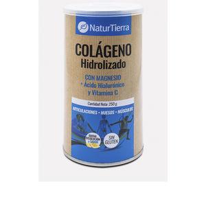 Collagen Colágeno hidrolizado con magnesio + Ácido hialurónico y vit. Naturtierra