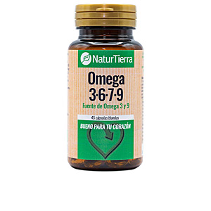 Omegas and fatty acids OMEGA 3, 6, 7 y 9 Naturtierra