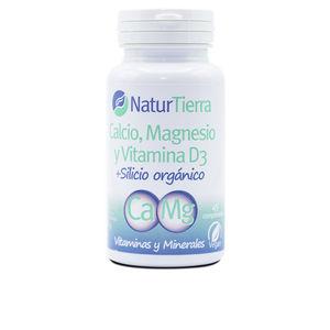 Minerals and trace elements - Vitamins CALCIO + Magnesio + Vitamina D3 + Silicio orgánico Naturtierra