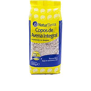 Harinas y cereales Copos de avena integral Naturtierra