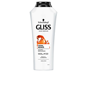 Hair loss shampoo - Moisturizing shampoo - Shampoo for shiny hair GLISS TOTAL REPAIR champú Schwarzkopf