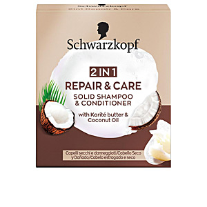 Champú hidratante - Champú sólido REPAIR & CARE champú sólido 2en1 Schwarzkopf