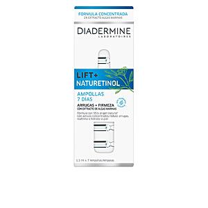 Anti aging cream & anti wrinkle treatment - Skin tightening & firming cream  LIFT+ NATURETINOL ampollas antiarrugas + firmeza Diadermine