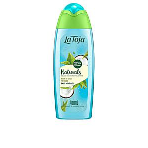 Gel de baño NATURALS agua coco y te verde gel ducha La Toja