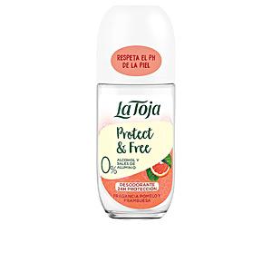 Desodorante NATURALS pomelo y frambuesa deo roll-on La Toja