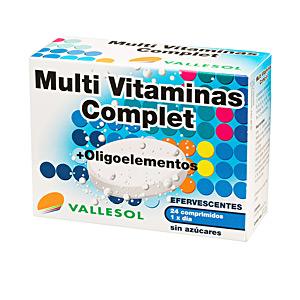 Vitamins MULTIVITAMINAS COMPLET + oligoelementos efervescentes Vallesol