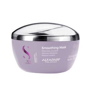 Hair straightening cream SEMI DI LINO SMOOTH smoothing mask Alfaparf