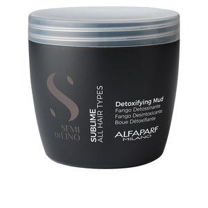 Hair - scalp exfoliation SEMI DI LINO sublime detoxifying mud Alfaparf