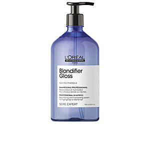 Colorcare shampoo - Shampoo for shiny hair BLONDIFIER GLOSS professional shampoo L'Oréal Professionnel