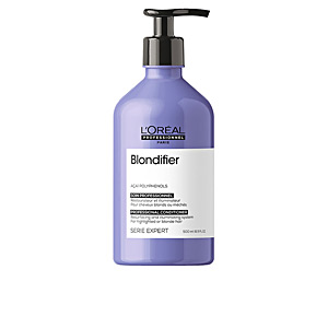 Sun Protection conditioner - Shiny hair products BLONDIFIER professional conditioner L'Oréal Professionnel