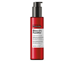 Heat protectant for hair - Hair styling product BLOW-DRY FLUIDIFIER 10-in-1 professional cream