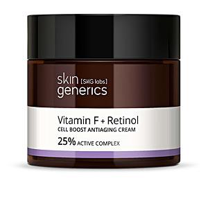 VITAMINA F + RETINOL cell boos antiaging cream 50 ml