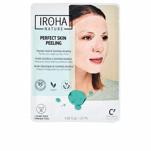 Face mask - Face scrub - exfoliator PERFECT SKIN PEELING glicolic acid & centella asiatica Iroha Nature