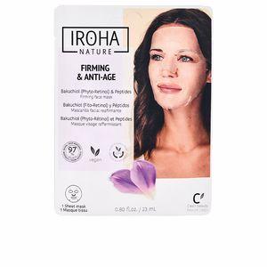 Exfoliante facial - Mascarilla Facial - Cremas Antiarrugas y Antiedad FIRMING & ANTI-AGE backuchiol & peptides firming face mask Iroha Nature