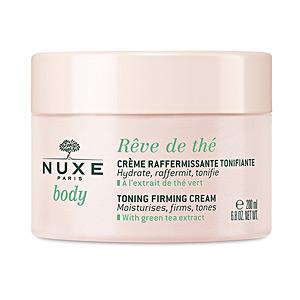Hidratante corporal RÊVE DE THÉ crème refermissante tonifiante Nuxe