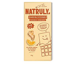 Cafés o Cacaos CHOCOLICIOUS con naranja + jengibre 70% cacao Natruly