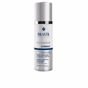 Anti aging cream & anti wrinkle treatment - Antioxidant treatment cream MULTIREPAIR s-ferulic serum bi-gel Rilastil