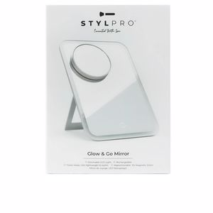 STYLPRO GO AND GLOW travel mirror 1 pz