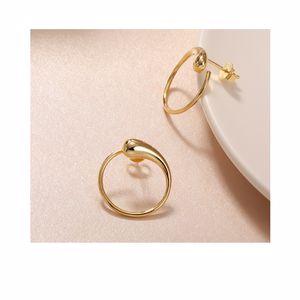 Earrings MO785 ECLIPSE earrings #gold Mockberg