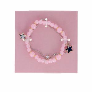 Armbänder PULSERA DOBLE perlas y estrellas Inca