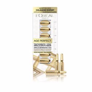 Skin tightening & firming cream  AGE PERFECT tratamiento 7 días ampollas efecto tensor L'Oréal París