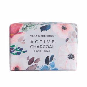 Facial cleanser ACTIVE CHARCOAL facial soap Vera & The Birds