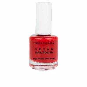 VEGAN nail polish #red roses for babe