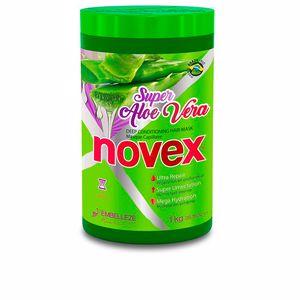 Hair mask for damaged hair SUPER ALOE VERA deep hair mask Novex