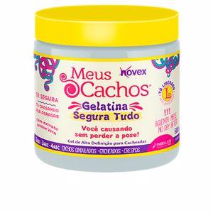 Producto de peinado MY CURLS gelatina segura Novex