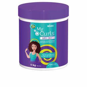 Behandlung für lockiges Haar MY CURLS super curly leave-in conditioner Novex