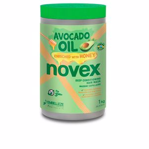 Hair mask for damaged hair AVOCADO OIL deep conditioning mask Novex