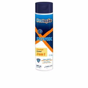 Champú hidratante - Gel de baño - Limpiador facial PROTECTION shampoo 3 in 1 Novex