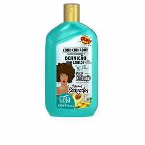 Detangling conditioner - Hair repair conditioner ACONDICIONADOR FORTALECEDOR definición cabello rizado Gota Dourada
