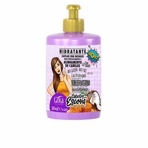Tratamiento anticaída - Tratamiento anticaspa LEGÍTIMO hidratante crema de peinar fortalecimiento Gota Dourada