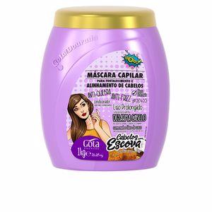 Mascarilla alisadora LEGÍTIMA mascarilla capilar fortalecimiento de cabellos anti Gota Dourada