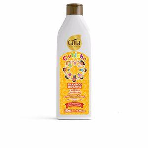 Haircare for kids - Shampoo for curly hair CLUBINHO champú infantil Gota Dourada