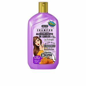Hair straightening shampoo CHAMPÚ fortalecimiento de cabellos liso prolongado Gota Dourada
