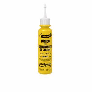 Tratamiento hidratante pelo - Tratamiento anticaída - Tratamiento anticaspa TÓNICO AJO capilar para fortalecimiento Gota Dourada